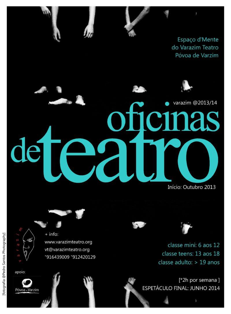 Imagem principal do artigo Oficinas de Teatro 2013/14