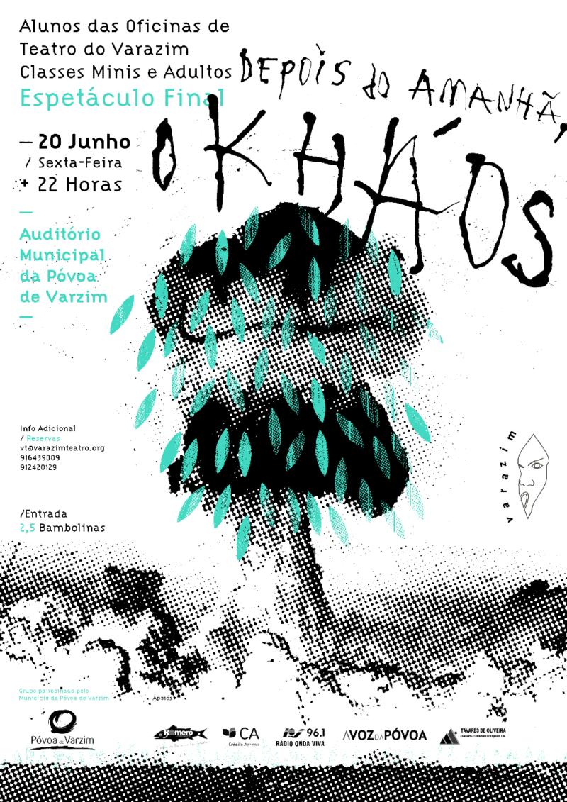 Imagem principal do artigo Oficinas de Teatro do Varazim (Classes Mini e Adultos) Espetáculo Final